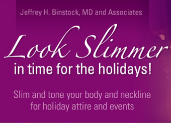 Look Slimmer for the Holidays!